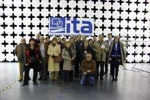 Foto del grupo de la visita.