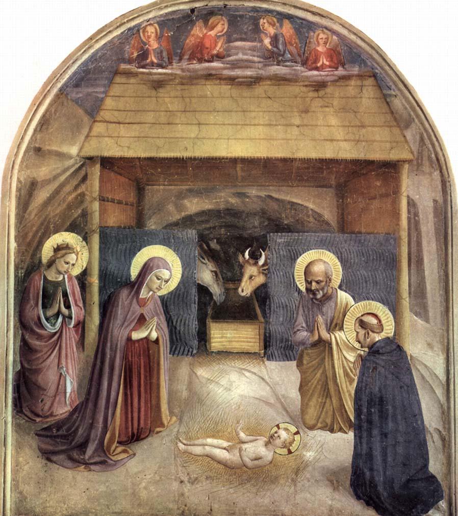 La Natividad, de Fra Angélico -1437-